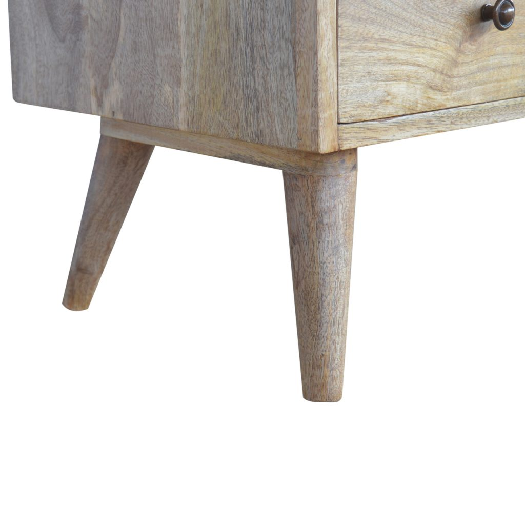 Nordic Media Unit With 4 Drawers