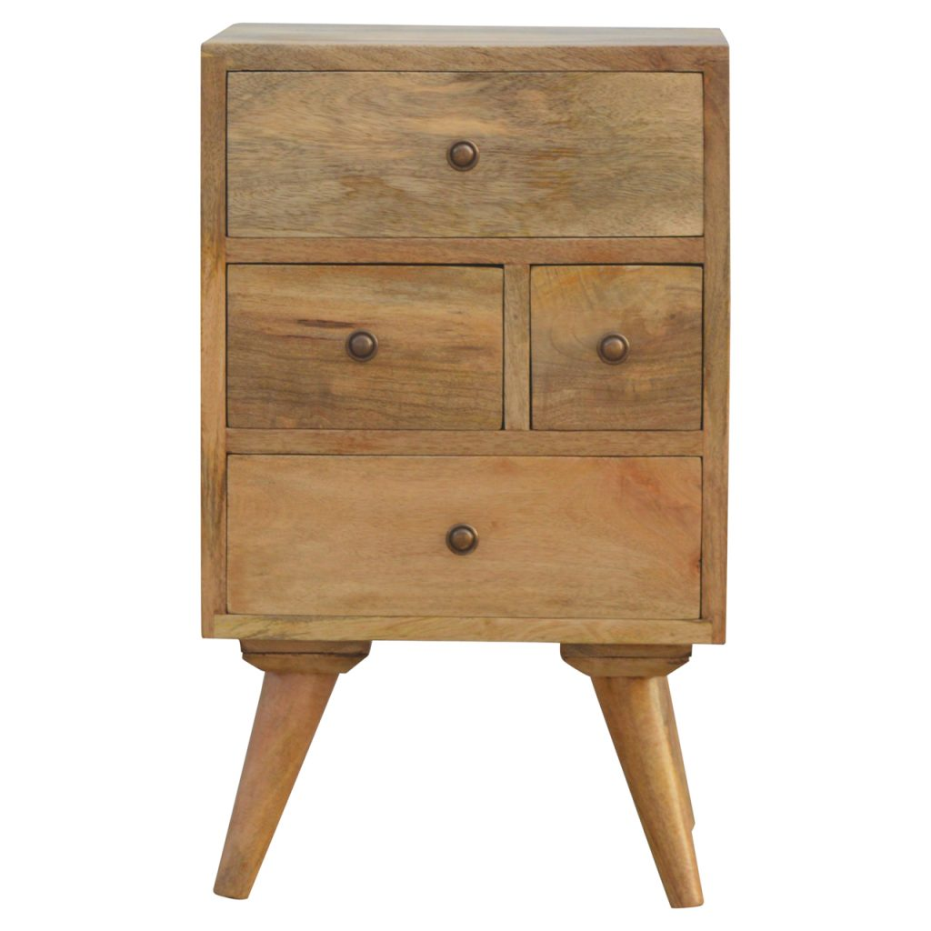 Mirabelle 2 Drawer Wall Mounted Bedside