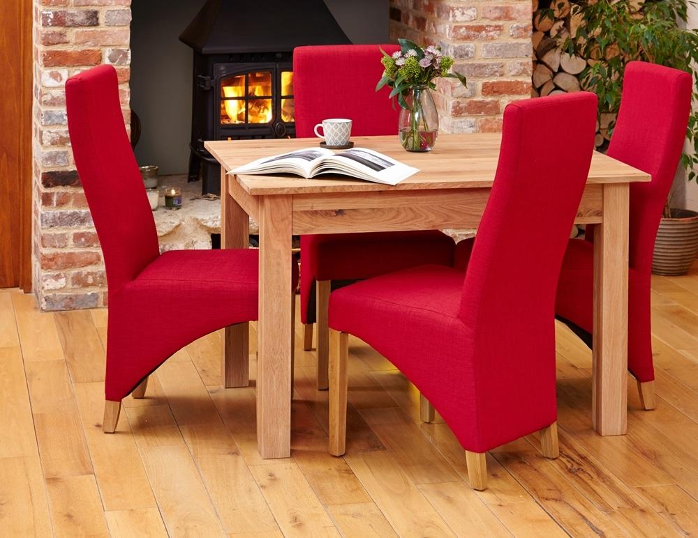 Mobel Oak Dining Table 4 Seater Denzilla