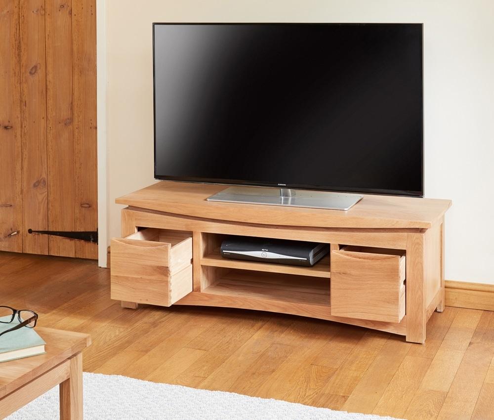 Roscoe Oak Widescreen Television Cabinet