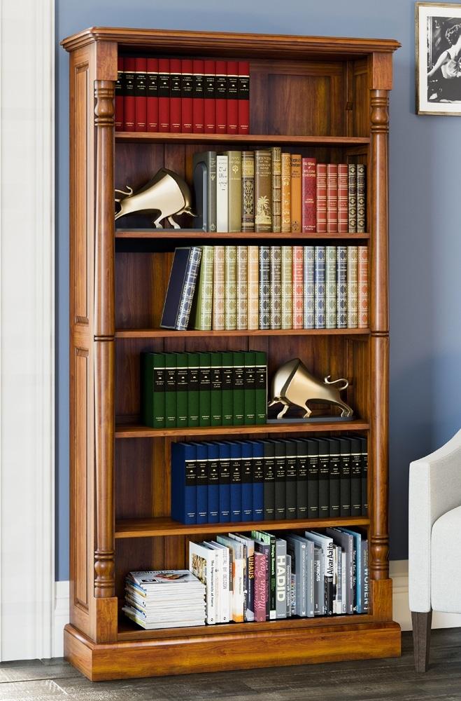 Reine Tall Open Bookcase