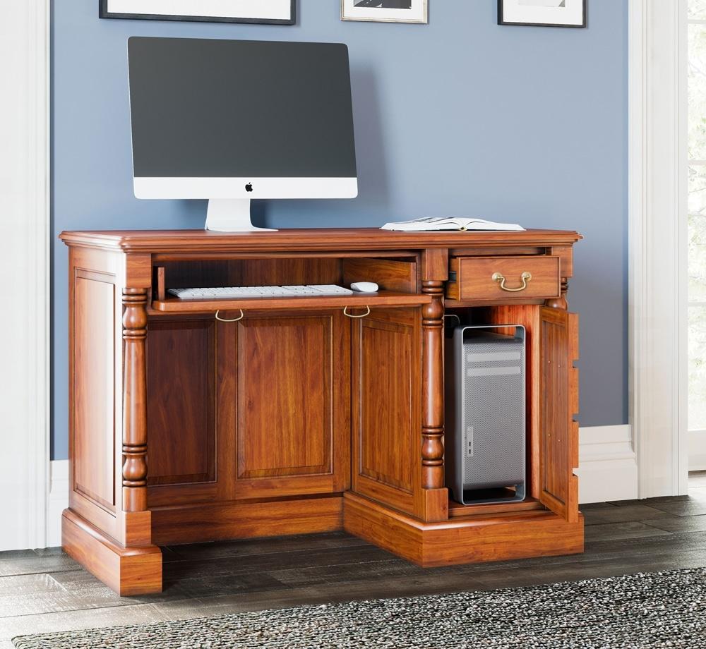 Reine Single Pedestal Computer Desk