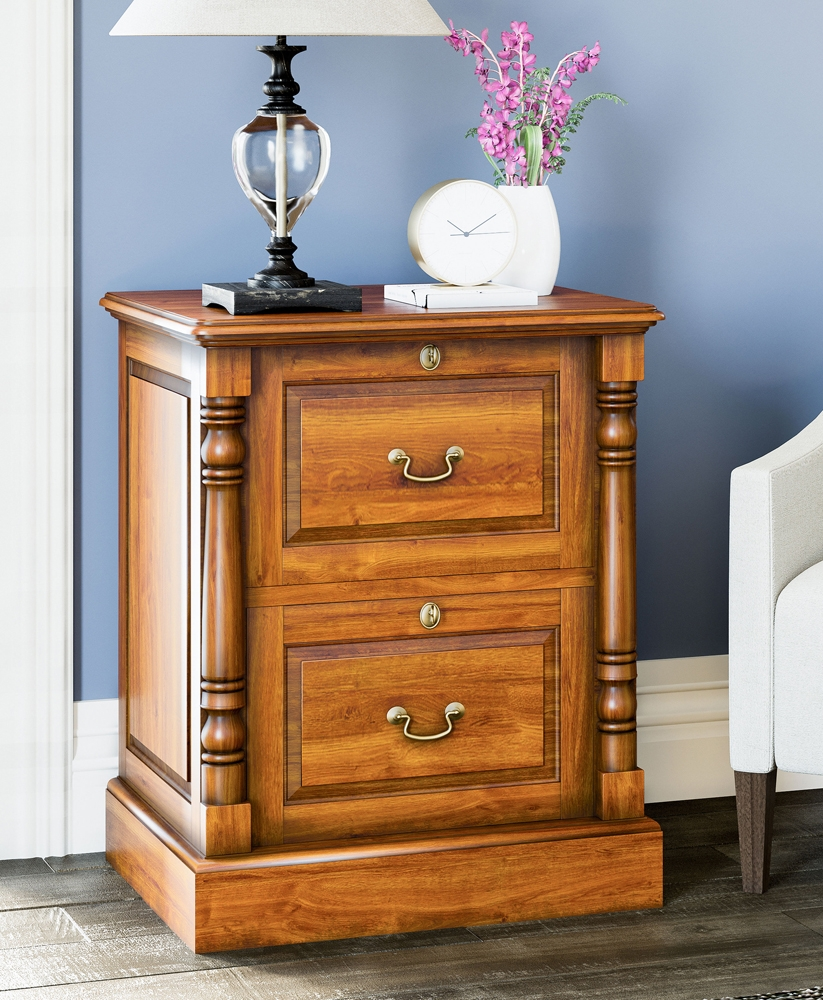 Reine Two Drawer Filing Cabinet
