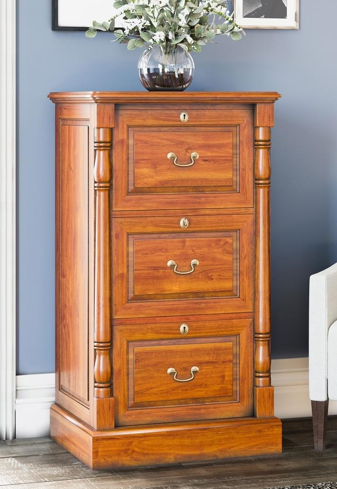 Reine Three Drawer Filing Cabinet