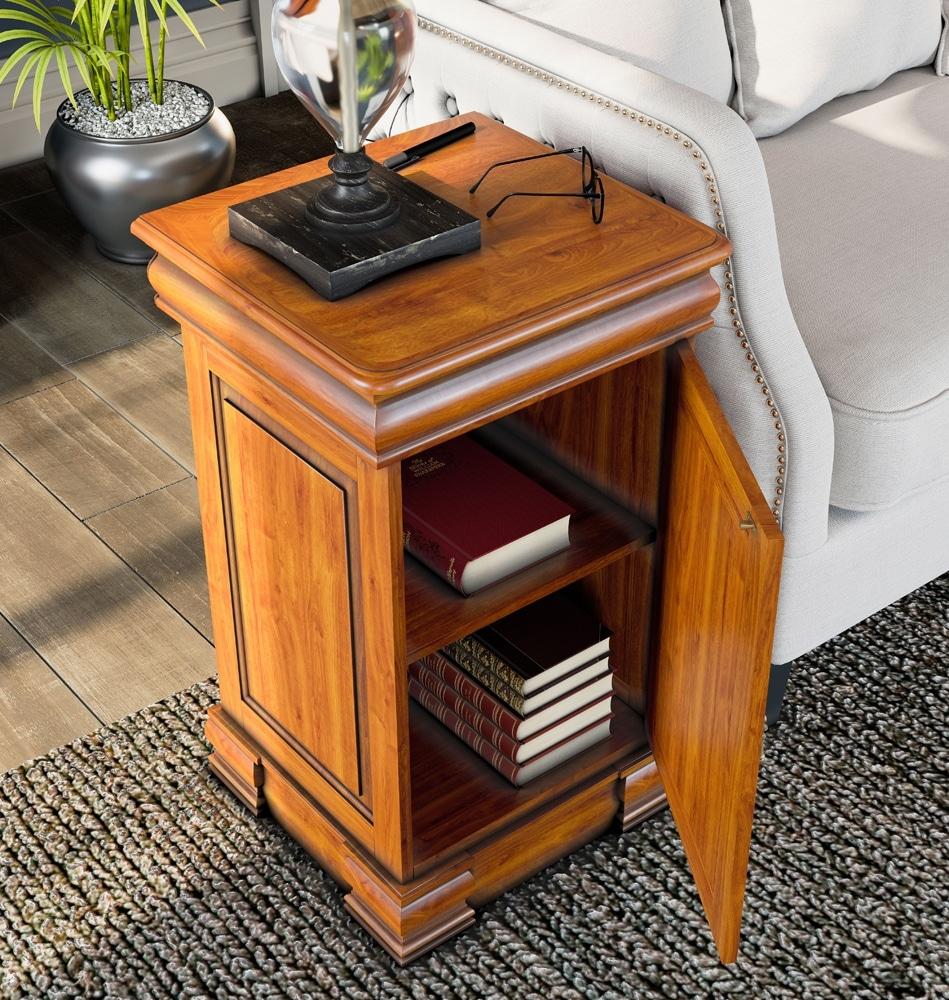 Reine 4 Drawer Lamp Table / Bedside Cabinet